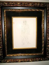 34/200 Leonor Fini Original Etching L'ange Hand Signed Numbered By Artist W Coa