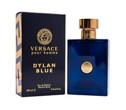 Versace Pour Homme Dylan Blue By Versace 3.4 Oz Edt Cologne For Men New In Box