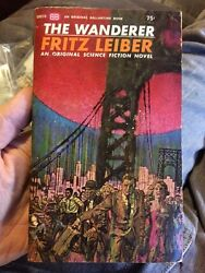 The Wanderer By Fritz Leiber 1964 Pbo Sci Fi Rare Collectible Paperback