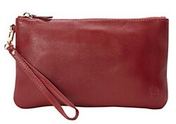 HButler Mighty Purse Wristlet Clutch Wine Red Cell Phone Charger On the Go $119.00