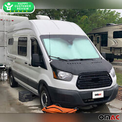 Fits Ford Transit 2014-2021 Front Hood Cover Mask Bonnet Bra Protector Guard
