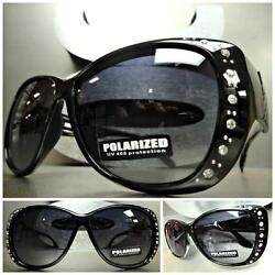 New WRAP AROUND DRIVING POLARIZED SUN GLASSES Black Frame Wear Over RX Glass Fit $14.99