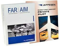 Jeppesen Gfd Private Pilot Textbook And Far/aim Part 10033655 Js314505