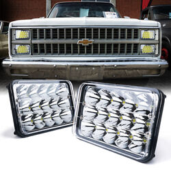 Xprite Pair Of 45w H4 Cree Led Headlights High/low Beam For Chevrolet Ford Buick