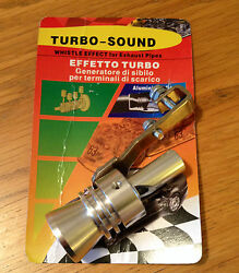 Motorcycle Exhaust Muffler Pipe Harley Whistle Turbo Sound Simulator Whistle