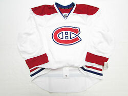 Montreal Canadiens Authentic Away Team Issued Reebok Edge 2.0 7287 Jersey Sz 54