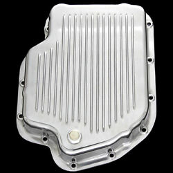 Polished Aluminum Transmission Pan For Chevy Pontiac Olds Gm Turbo 400 Trans