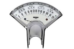 Classic Instruments 55 56 Chevy Bel Era Iii Package Gauge Panel White With Shift