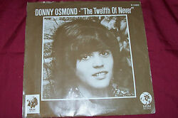 """Donny Osmond The Twelfth Of Never 45 Rpm Record Single 7"""" Collectible Rare 12th"""