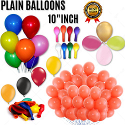 Wholesale Job Lot Latex Plain Mix Colour Balloons For Mothers Day Wedding Easter