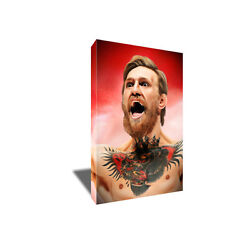 Notorious Mma Badass Conor Mcgregor Poster Photo Painting On Canvas Wall Art