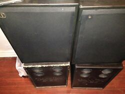 4.0 AUDIOPHILE COLLECTORS ITEM 2TANNOY SGM-15 MAIN SPEAKERS 2 C-150 SUBSWOOFERS