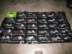 Arctic Cat 2015 Ride More Snowmobile Line Up Banner 48 X 96