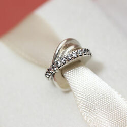 * Authentic Pandora 791994cz Galaxy with Clear CZ Spacer