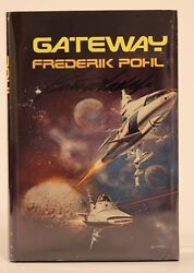 Signed Gateway By Frederik Pohl Signed Pohl And Artist Borris Vallejo 1st Rare
