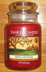 Yankee Candle - 2015 Apple Festival - 22 Oz - Only 96 Produced - Very Rare