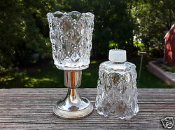 2 Partylite P9246 Quilted Peglite Votive Cup Candle Holder W/grommet Retired