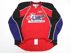 Chl Top Prospects Game Authentic Red Reebok Edge 1.0 7187 Jersey Size 56