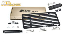 Eos For 07-14 Mercedes S63 Amg S65 Amg | Full Sized Front Tow Hook License Plate
