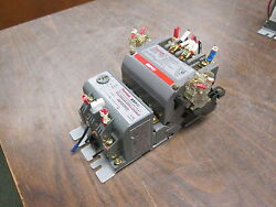 Furnas Size 1 Starter 14ds+32a/48asb3m20 27a 600vac Trip 0.75-3.0a Used