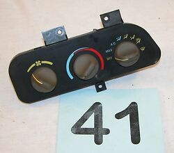1993 Camaro Yellow Print Heater AC Climate Control Unit  TESTED GOOD  #41