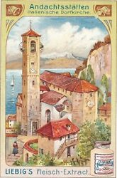 Large Collection Of Liebig Advertising Cards