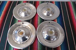Vintage 1950and039s 1960and039s Chrysler Dodge Plymouth Hubcaps Wheel Covers Hub Caps 15
