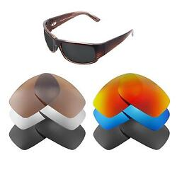Walleva Replacement Lenses for Maui Jim World Cup Sunglasses-Multiple Options
