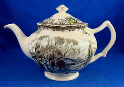 Johnson Brothers Friendly Village Teapot Made In England