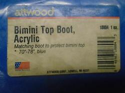 18804 Boot Show Attwood Matching Boot To Protect Bimini Top