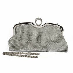 Ali Victory Crystal Diamond Evening Bags and Clutches for Women Small Handbags