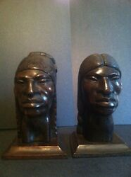 2 Vintage Aymara Natives - Carved Wood - Attributed To G. Arias - Exceptional
