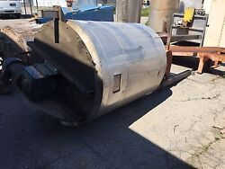Stainless Steel Steam Heated Jacketed Hot Melt Glue Reducer Approx. 557 Gal Used