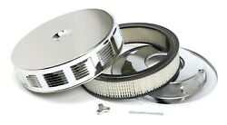 NEW Trans-Dapt Performance Products Chrome Air Cleaner Vintage Corvette Style zl