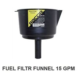 Racor Rff15c Fuel Funnel-stainless Steel Filter 15gpm 74micron 8.5d Diesel Gas