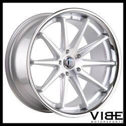 20 Rohana Rc10 Silver Concave Wheels Rims Fits Toyota Camry