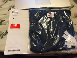 Ss15 Supreme X Majestic New York Yankees Jersey Navy Large Deadstock