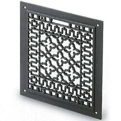 12x14 Cast Iron Floor, Wall, Ceiling Grille - Requires 10x12 Opening