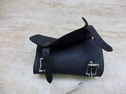 1995 Harley Sportster Xl 883 S752. Leather Front Roll Storage Pouch