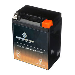 Yb14l-a2 Motorcycle Battery For Kawasaki Kz1000-c Police Z1-r 1000cc 78-and03979