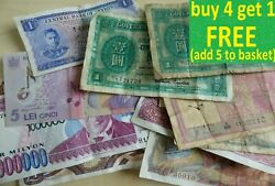Banknote Collection Choose From List Each Has Its Own Pictures World Gb India