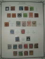 Denmark Collection 1851-2002 In Scott Specialty Album Mint And Used Scott 4718