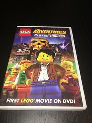 LEGO Movie The Adventures of Clutch Powers DVD 2010