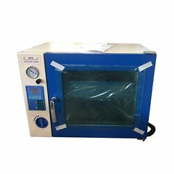 Hfs 1.9 Cuft Stainless Vacuum Oven - 10 Shelves, Led Lights, Extraction Purging