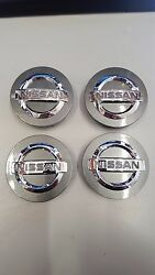 New Oem 2016 Murano Wheel Center Capsset Of 4--fits Many Other Models