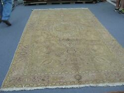 Antique Turkish Sivas Oushak Hereke Rug Wool Hand Knotted 6and039-6 X 11and039-6