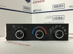 08-15 Chevy Express GMC Savanna  AC Heat Heater Climate Control Switch 15773678