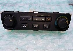 2001 2002 HONDA ACCORD EX LX AC HEATER CLIMATE CONTROL TEMP UNIT HVAC AC MODULE