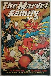 The Marvel Family 4 1945 Ultra Rare And Very Intact See Description