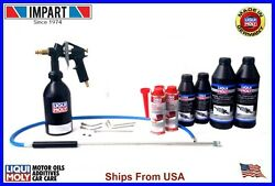 Liqui Moly Diesel Particulate Cleaning Kit W/ 2 Ea. Cleaner Purge And Protector